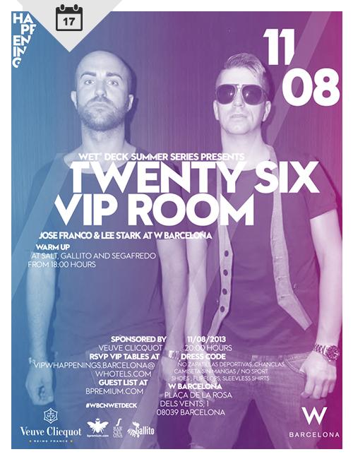 Twenty Six Vip Room at W