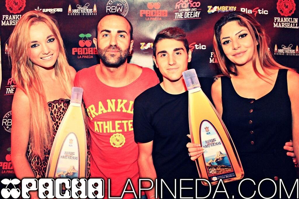 Cierre Pacha La Pineda - Concurso Everybody Loves The Deejay - Jose Franco