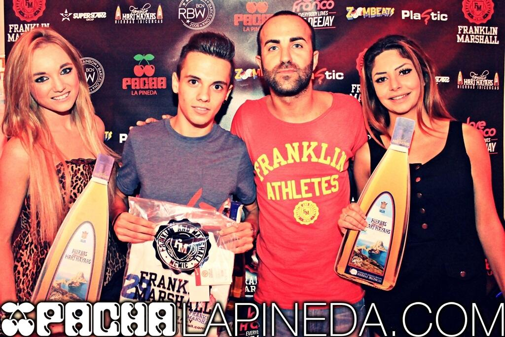 Cierre Pacha La Pineda - Concurso Everybody Loves The Deejay - Jose Franco