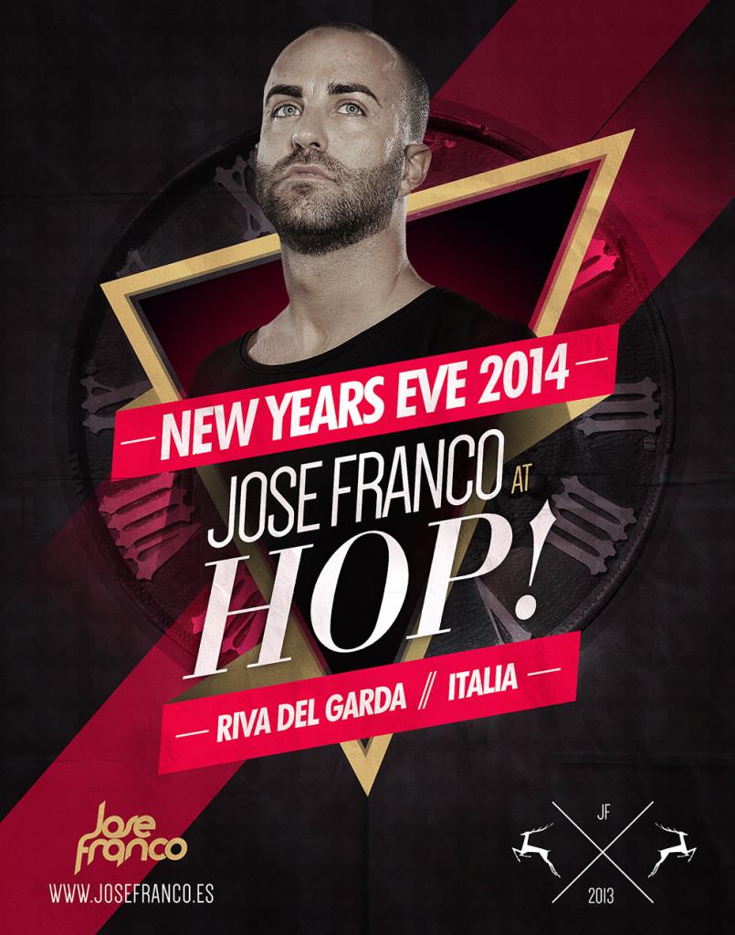 Jose Franco @ HOP! New Year's Eve 2014 Italia