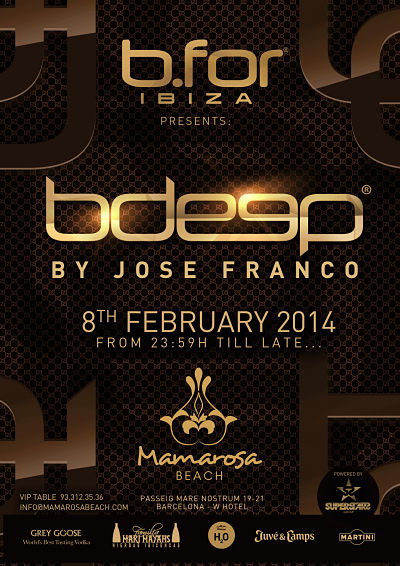 Pop Up Bfor Ibiza @ Mamarosa Beach Barcelona